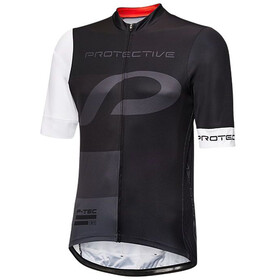 Protective Mr.Race T.Bold Bike Jersey Shortsleeve Men white/black